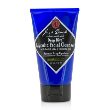 Jack Black Deep Dive Limpiador Facial Glicólico  147ml/5oz