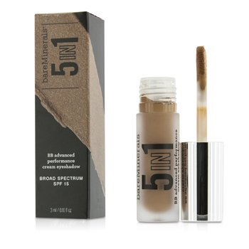 BareMinerals BareMinerals 5 In 1 BB Advanced Performance Cream Eyeshadow Primer SPF 15 - Radiant Sand  3ml/0.1oz