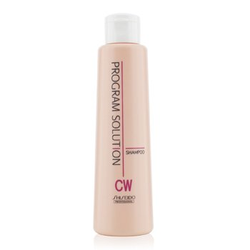 Shiseido Šampon CW pro barvené a kadeřavé vlasy Program Solution Shampoo CW (For Colored & Wave Hair)  200ml/6.7oz