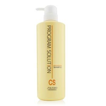 Shiseido Program Solution Shampoo CS (For Colored & Ionized Straightening Hair)  700ml/23.66oz