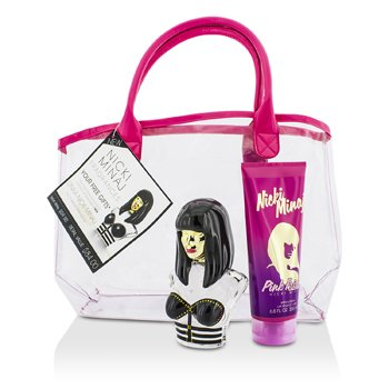 Nicki Minaj Zestaw Onika Coffret: Eau De Parfum Spray 100ml/3.4oz + Pink Friday Body Lotion 200ml/6.8oz + Bag  2pcs+bag