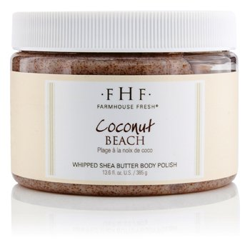 Farmhouse Fresh Lustru de Corp - Coconut Beach  385g/13.6oz