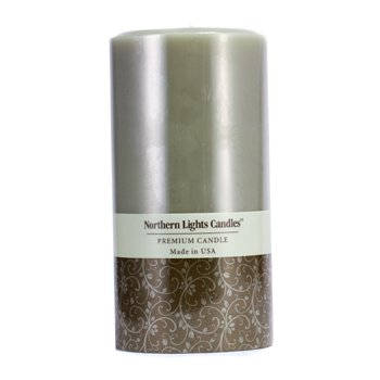 Northern Lights Candles Premium Candle - Lime Basil  (3x6) inch