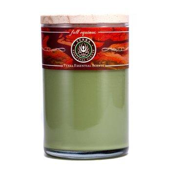 Terra Essential Scents Świeca zapachowa Hand-Poured Soy Candle - Fall Equinox  12oz
