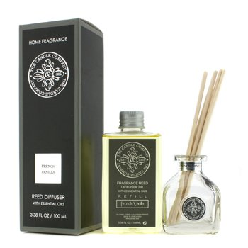 The Candle Company Reed Diffuser with Essential Oils - French Vanilla  100ml/3.38oz