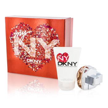 DKNY My NY The Heart Of The City Coffret: Eau De Parfum Spray 50ml/1.7oz + Crema Corporal 100ml/3.4oz  2pcs