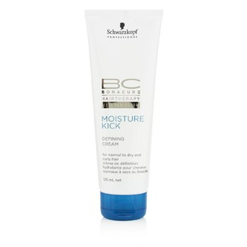 Schwarzkopf BC Moisture Kick Defining Cream (For Normal to Dry and Curly Hair)  125ml/4.2oz