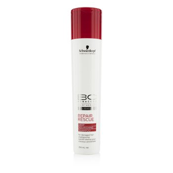 Schwarzkopf BC Repair Rescue Deep Nourishing Shampoo (For Damaged Hair)  250ml/8.4oz