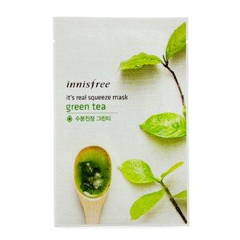 Innisfree It's Real Squeeze Mască - Green Tea  10pcs