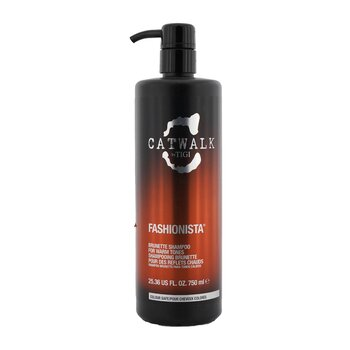 Tigi Catwalk Fashionista Brunette Shampoo (For Warm Tones)  750ml/25.36oz