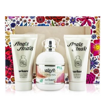 Cacharel Anais Anais L'Original Coffret: Eau De Toilette Spray 100ml/3.4oz + 2x Loci�n Corporal 50ml/1.7oz  3pcs