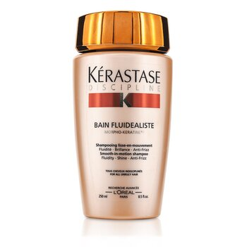 Kerastase Discipline Bain Fluidealiste Smooth-In-Motion Champ� (Para Cabello Dif�cil de Manejar)  250ml/8.5oz