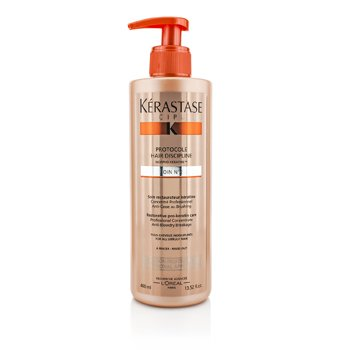 Kerastase Discipline Protocole Hair Discipline Soin N1 Bərpaedici Pro-Keratin Qulluq (Buruq Saç Üçün)  400ml/13.52oz