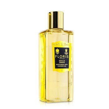 Floris Soulle Ambar Moisturising Bath & Shower Gel  250ml/8.5oz