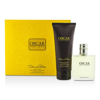Oscar De La Renta Oscar Coffret: Eau De Toilette Spray 100ml/3.4oz + Hair & Body Wash Gel 200ml/6.7oz  2pcs