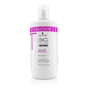 Schwarzkopf BC Color Freeze Treatment (For Coloured Hair)  750ml/25.5oz
