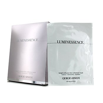 Giorgio Armani Luminessence Bright Infusion Bio-Cellulose Mask  6x14ml/0.47oz
