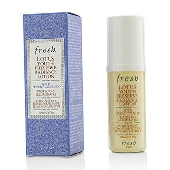 Fresh Lotus Youth Preserve Loción Resplandor  30ml/1oz