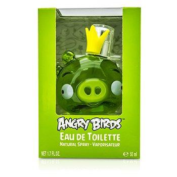 Air Val International Angry Birds King Pig (Verde) Eau De Toilette Spray  50ml/1.7oz