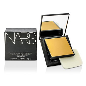 NARS All Day Base en Polvo Luminosa Con SPF25 - Laponie (Light 6 Medio con tonos amarillos)  12g/0.42oz
