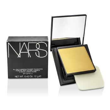 NARS All Day Base en Polvo Luminosa Con SPF25 - Sweden (Light 3 Clara Con tonos amarillos)  12g/0.42oz