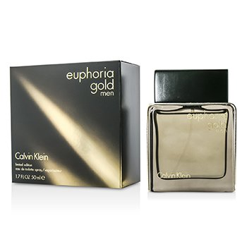 Calvin Klein Euphoria Gold Men Eau De Toilette Spray (Edición Limitada)  50ml/1.7oz