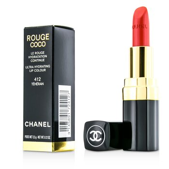 Chanel Rouge Coco Color Labios Ultra Hidratante - # 412 Teheran  3.5g/0.12oz