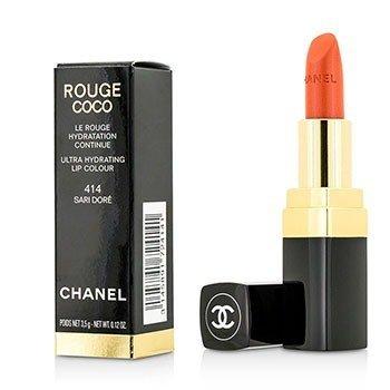 Chanel Batom Rouge Coco Ultra Hydrating - # 414 Sari Dore  3.5g/0.12oz