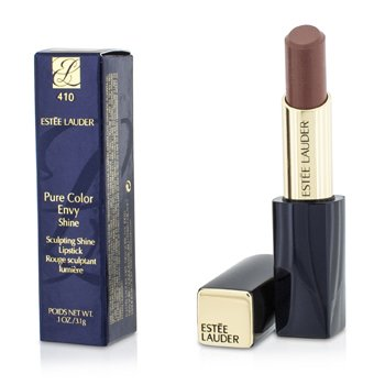 Estee Lauder Pure Color Envy Shine Sculpting Shine Lipstick - #410 Mischievous Rose  3.1g/0.1oz