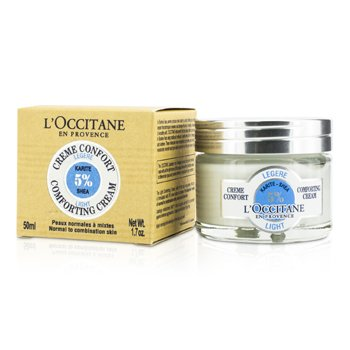 L'Occitane Crema Liviana Confort Karité - Piel Normal a Mixta  50ml/1.7oz