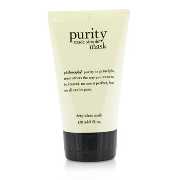 Philosophy Purity Made Simple Mask Mascarilla Limpieza Profunda  120ml/4oz