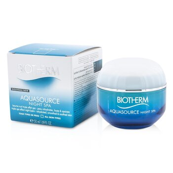 Biotherm Aquasource Night SPA Triple Spa Effect Night Balm (All Skin Types)  50ml/1.69oz