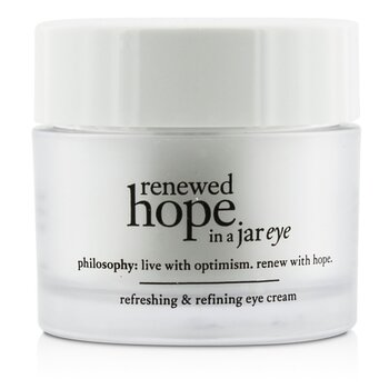 Philosophy Renewed Hope In a Jar Crema Ojos  15ml/0.5oz