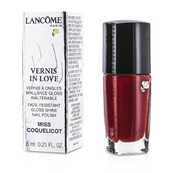 Lancôme Esmalte Vernis In Love - # 154M Miss Coquelicot  6ml/0.21oz