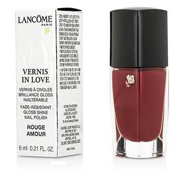 Lancome Vernis In Love Color U�as - # 160N Rouge Amour  6ml/0.21oz