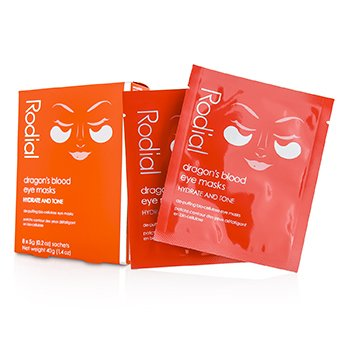 Rodial Dragon's Blood Eye Masks  8x5g/0.2oz