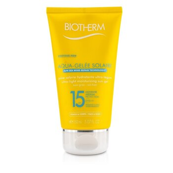 Biotherm Ultra Light Moisturizing Sun Gel SPF15 (Aquagelee)  150ml/5.07oz