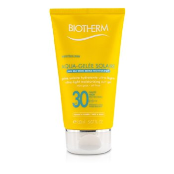 Biotherm Gel Solar Humectante Ultra Ligero SPF30 (Aquagelee)  150ml/5.07oz