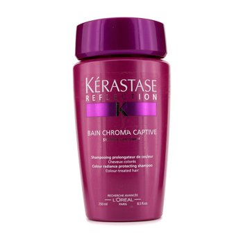 Kerastase Ochronny szampon do włosów farbowanych Reflection Bain Chroma Captive Colour Radiance Protecting Shampoo (For Colour-Treated Hair)  250ml/8.5oz