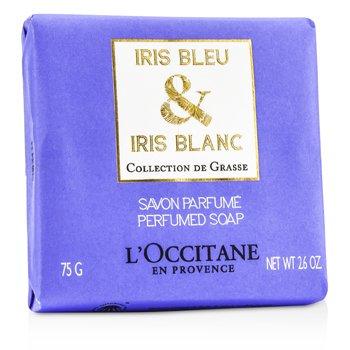 L'Occitane Iris Bleu & Iris Blanc Jabón Perfumado  75g/2.6oz
