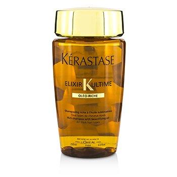 Kerastase شامبو كثيف Elixir Ultime Oleo-Riche (لجميع أنوا الشعر السميك)  250ml/8.5oz