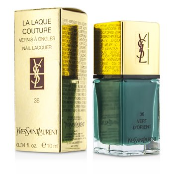 Yves Saint Laurent La Laque Couture Esmalte U�as - # 36 Vert D'Orient  10ml/0.34oz