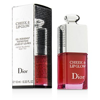 Christian Dior Brillo Labios & Mejillas Instant Blushing Rosy Tint  10ml/0.33oz