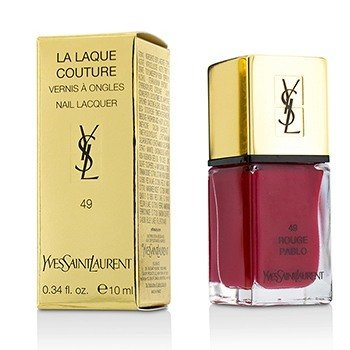 Yves Saint Laurent La Laque Couture Nail Lacquer - # 49 Rouge Pablo  10ml/0.34oz