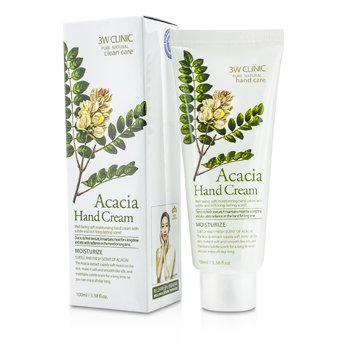 3W Clinic Hand Cream - Acacia  100ml/3.38oz