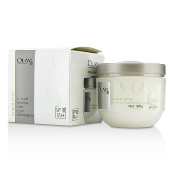 Olay Natural White UV Natural Lightening Cream SPF 18  100g/3.5oz