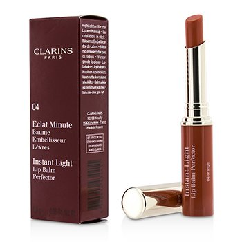 Clarins Balsam do ust Eclat Minute Instant Light Lip Balm Perfector - # 04 Orange  1.8g/0.06oz
