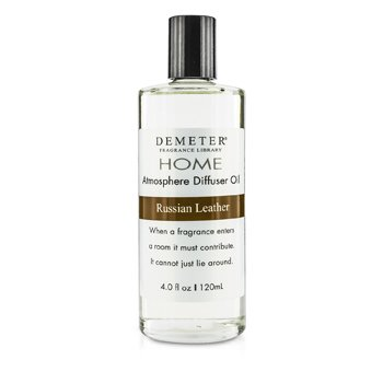 Demeter Atmosphere Diffuser Oil - Russian Leather  120ml/4oz