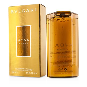 Bvlgari Aqva Amara Shampoo & Shower Gel  200ml/6.8oz