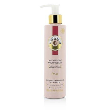 Roger & Gallet Rose Melt-In Body Lotion (with Pump)  200ml/6.6oz